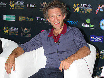 Венсан Кассель на кинофестивале в Астане