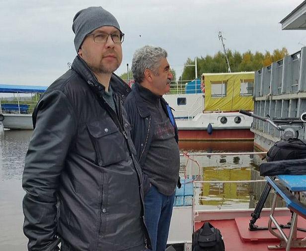 Писатель Алексей Иванов готовится к съемкам фильма Тобол