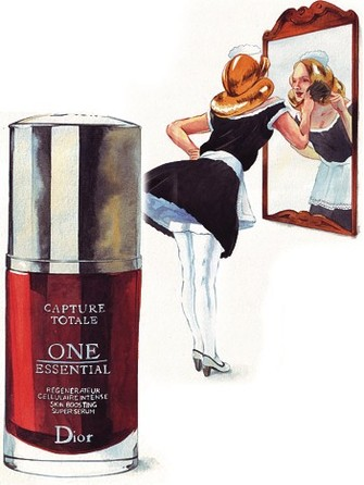 Сыворотка Capture Totale One Essential, универсальное средство ухода за кожей.