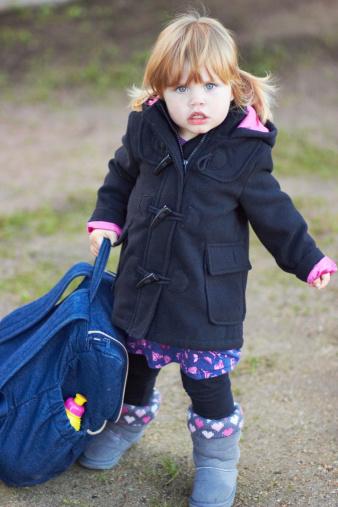 Для первоклассника нужно выбирать удобный рюкзак