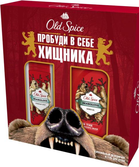 Old Spice, набор Bearglove, 260 рублей