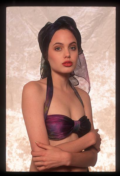 редкие фото Анджелины Джоли