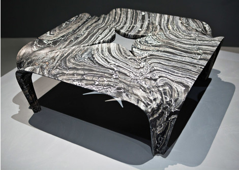 Мраморные вазы и столы от Захи Хадид   галерея [1] фото [11]