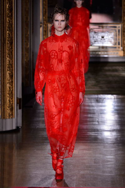 Самые красивые образы Недели моды в Лондоне | галерея [1] фото [18]