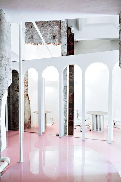 Жизнерадостный интерьер офиса: проект в деталях | галерея [1] фото [5]