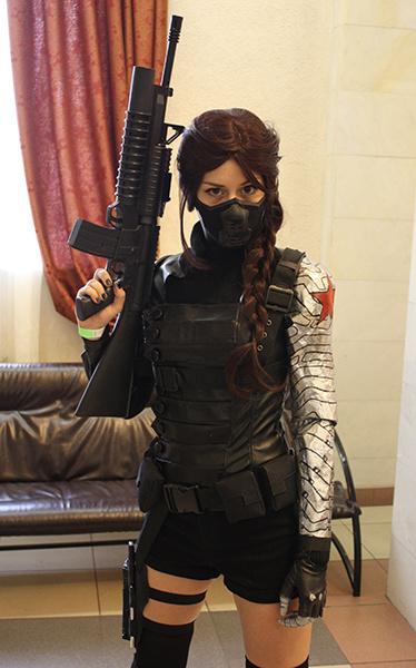 Зимний солдат из фильма «Мстители», фестиваль фэнтези и фантастики