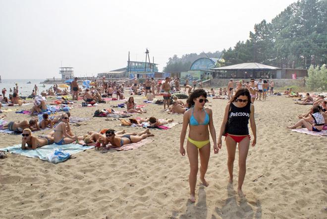 Пляжи Новосибирска: «У моря» («Бумеранг»)