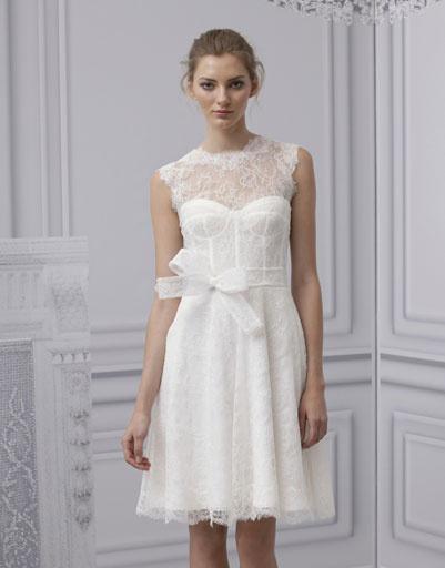 Свадебное платье Monique Lhuillier 2013