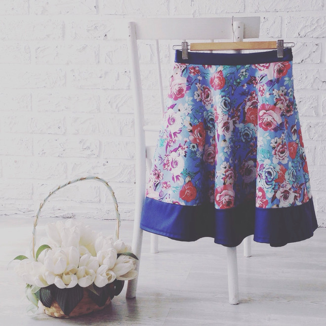 Как выбирать юбки на широкие бедра