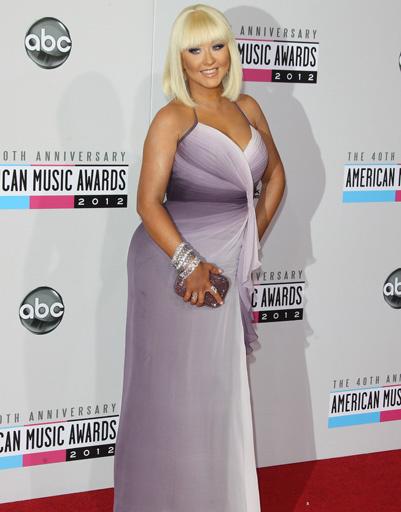 Кристина Агилера (Christina Aguilera) на вручении премии American Music Awards
