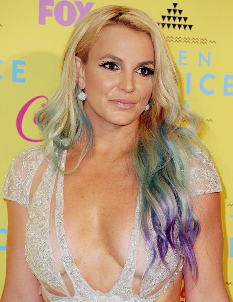 Бритни Спирс на премии Teen Choice Awards 2015