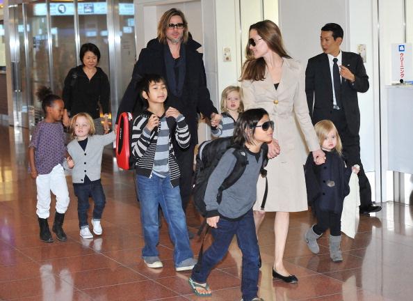 C Питта сняты обвинения в жестоком обращении с детьми