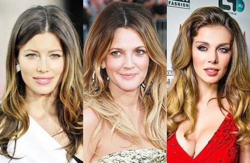 Эффект ombre hair color
