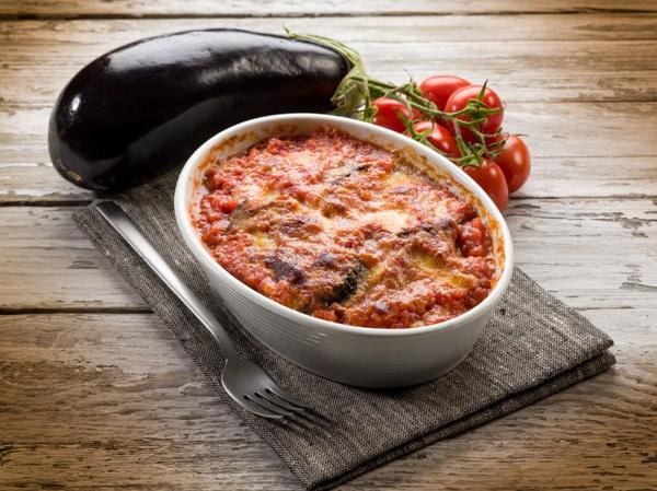 Баклажаны с помидорами перцем говядиной