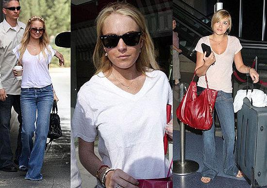 джинсы и майка