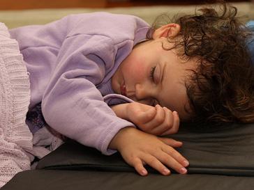 Когда дети спят всю ночь