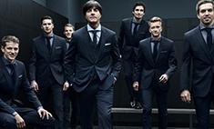 Hugo Boss создал костюмы для сборной Германии