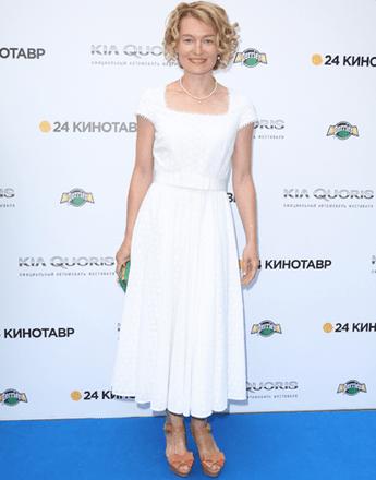 "Виктория Толстоганова на открытии ""Кинотавра-2013"""