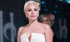 Леди Гага вышла в свет в роскошном свадебном платье