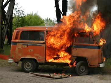Взорвалась машина в Таджикистане