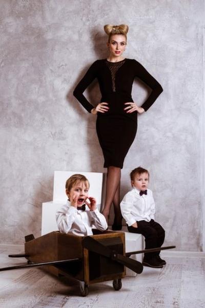 Диана с сыновьями
