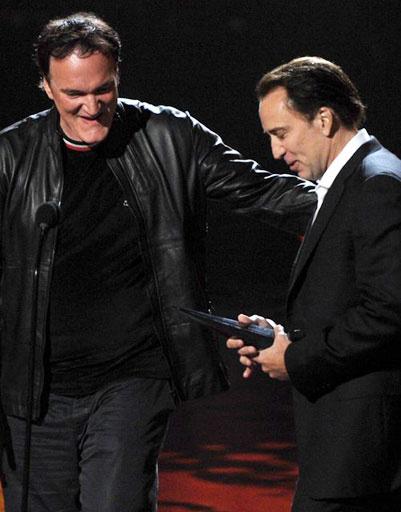 Квентин Тарантино (Quentin Tarantino) и Николас Кейдж (Nicolas Cage)