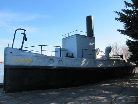 буксирный пароход «Харьков».