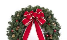 Подготовка к Рождеству: венок из шишек своими руками