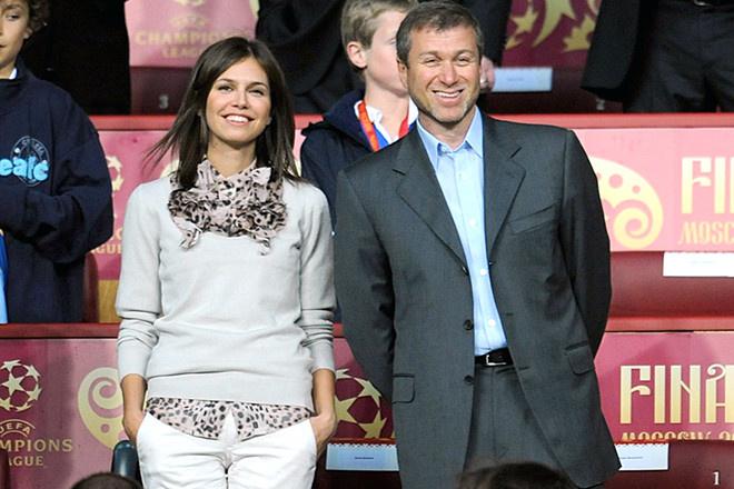 Роман Абрамович и Дарья Жукова, фото