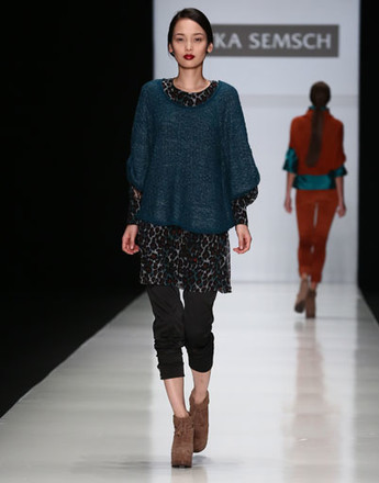 Показ коллекции Sitka Semsch осень-зима 2013/14 на Mercedes-Benz Fashion Week Russia