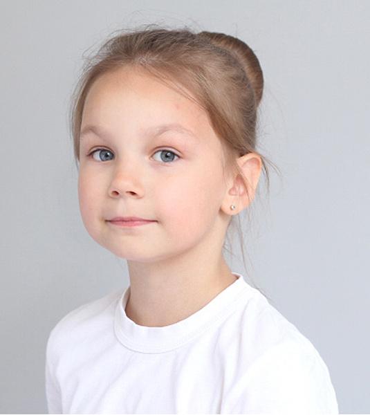 Елизавета Князева, «Топ модель по-детски-2016», фото
