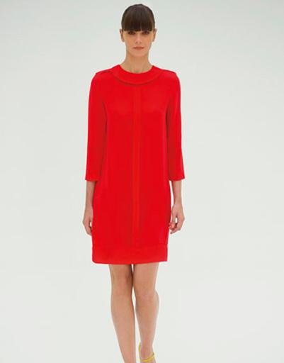 Платье из коллекции Victoria by Victoria Beckham, сезон весна-лето 2012