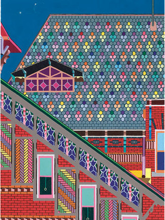 Джессика Парк. «Дом Марка Твена, блик затмения и Венера», 1999.