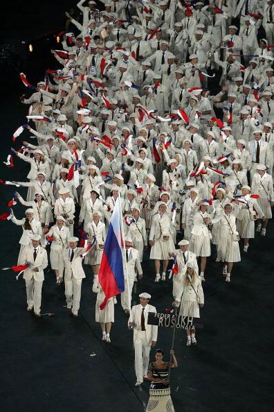 Олимпиада в Афинах 2004: форма команды России