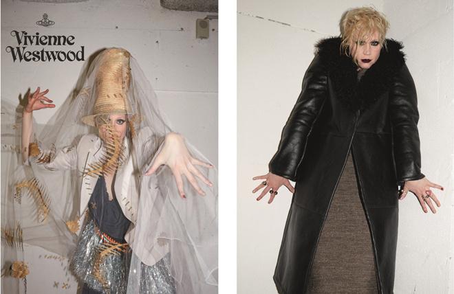 Гвендолин Кристи в рекламной кампании Vivienne Westwood осень-2015
