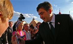 Михаил Саакашвили обучит школьников грузинским танцам