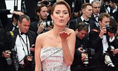 Виктория Боня удивила Канны нарядом в стиле ретро