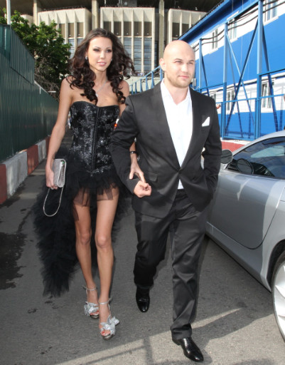 Певец Джиган с женой Оксаной