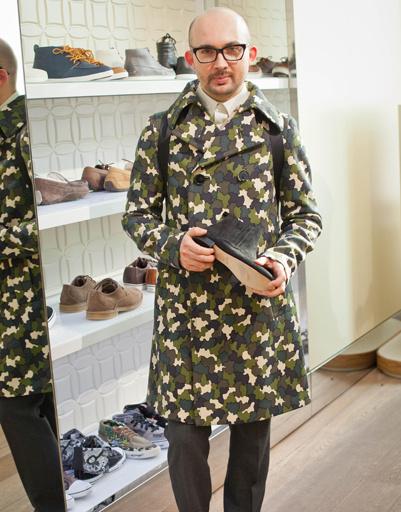 Виталий Козак на презентации коллекции весна-лето 2012 UGG Australia