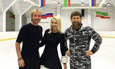 Асса! Рудковская и Плющенко станцевали лезгинку для Кадырова