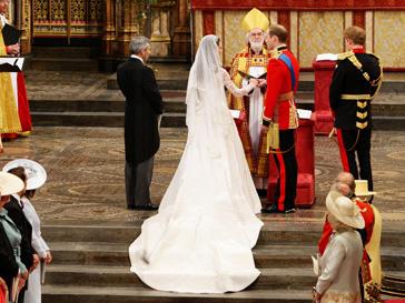 Кейт Миддлтон, принц Уильям, Королевская свадьба, курьезы