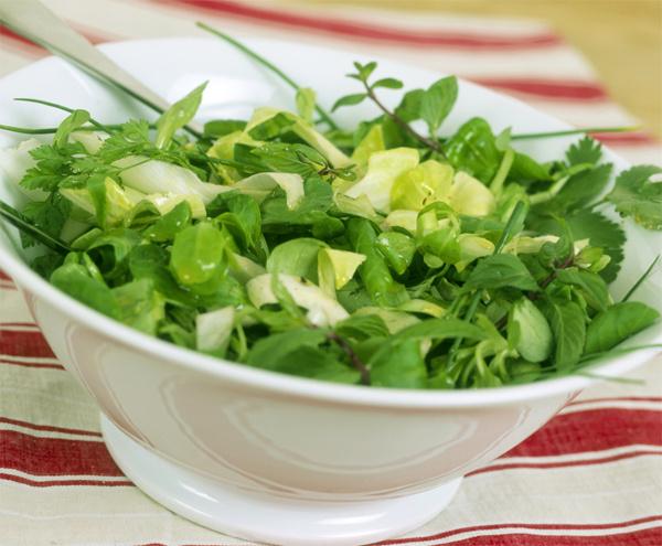 Польза зеленых овощей