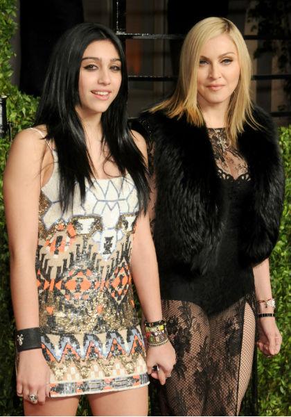 Мадонна и ее дочь Лурдес