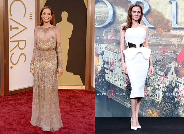 звездная анорексия, фото Анджелина Джоли