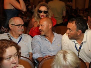 Никита Михалков, Федор Бондарчук и Александр Роднянский