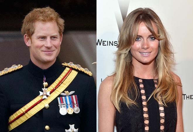 Принц Гарри женится на Крессиде Бонас