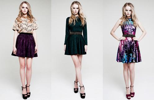 Модный бренд I am ежегодно выпускает праздничную коллекцию платьев специально к Новому году