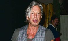 63-летний Микки Рурк надел слишком узкие джинсы