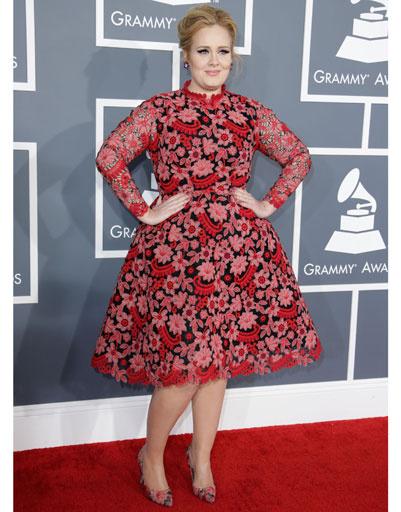 """Адель (Adele) на """"Грэмми""""-2013"""