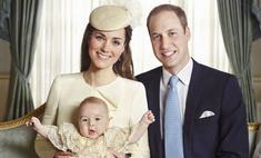 Первые официальные фотографии с крестин принца Джорджа